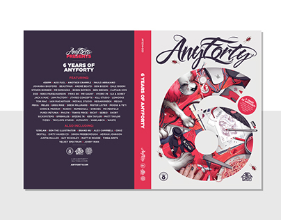 Editorial Design: AnyForty Six Book