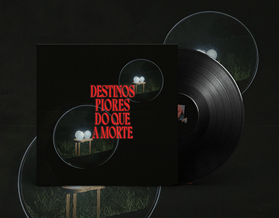 Capa do álbum Destinos Piores do Que a Morte