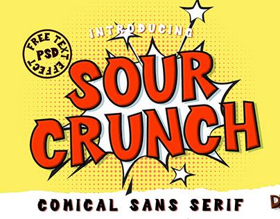 Sour Crunch - Comical Sans Serif Font