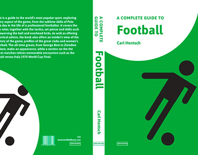 Sports series book cover design