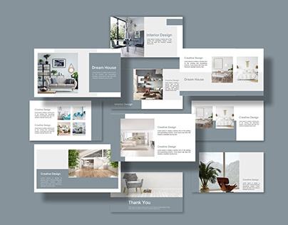 Minimal Interior Design Presentation