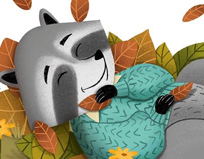 Ilustração de Animais para Livro Infantil