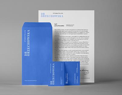 Dr Orzechowska | identyfikacja wizualna