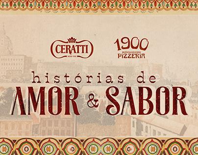 Logotipo - Histórias de Amor & Sabor