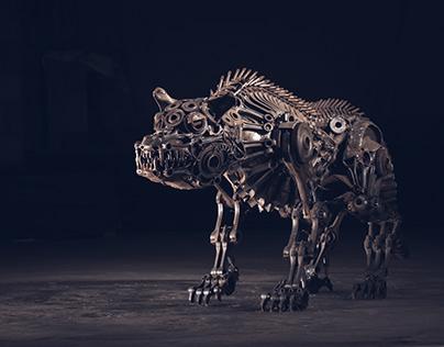 Biomechanical dog (2015)