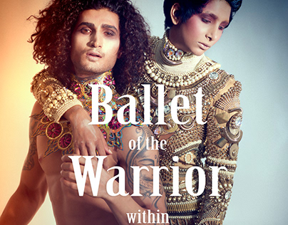 Ballet of the Warrior within