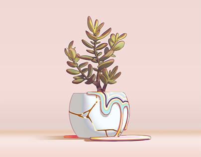 Plant Life Triptych