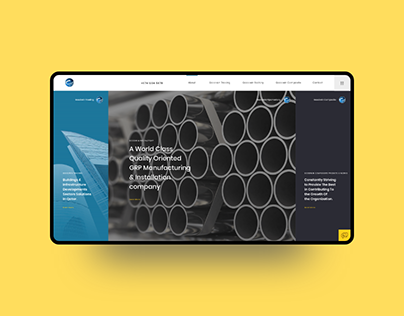 Group of Companies Website Design - 2019