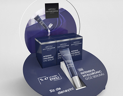 Esthederm Counter Display Design