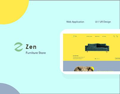 Zen UI / UX Design