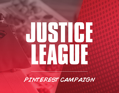 DC Comics: Justice League / Target Pinterest Campaign