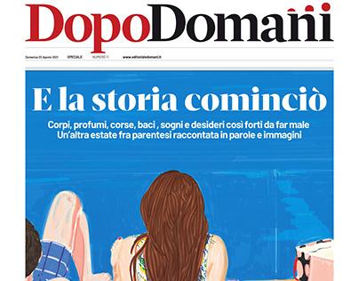 Summer (Cover for Domani Editoriale) 22 Aug 2021, Rome