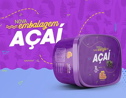 Nova Embalagem Illa Açaí