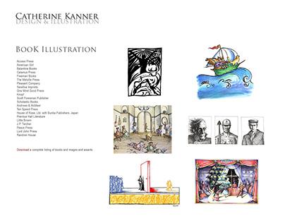 Catherine Kanner Book Illustration