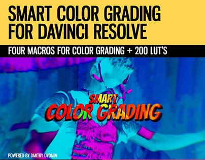Smart Color Grading for DaVinci Resolve