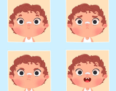 Character design - Facial expressions