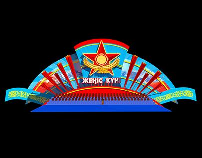 9 мая 2015 Площадь Независимости, г. Астана
