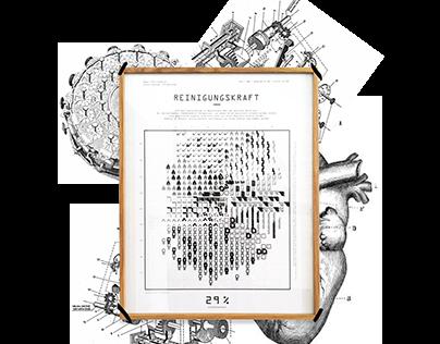 Die Kartografie der Ersetzbarkeit Information Graphic