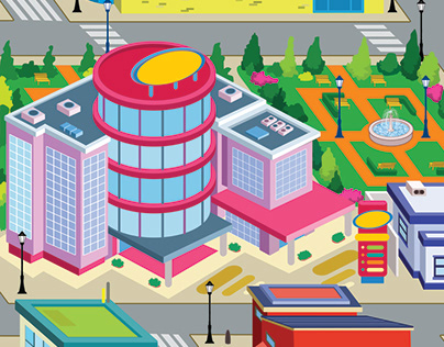 City Buildings Houses