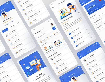 Online Learning App UI