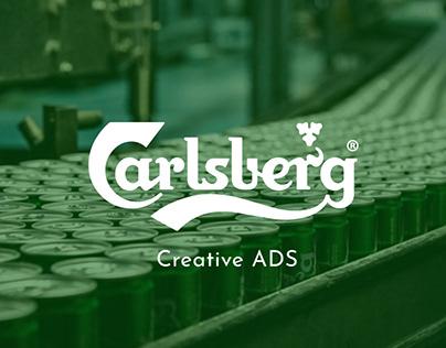 Carlsberg outdoor creative ads | Concept