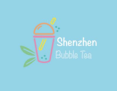 30 days logo challenge - Shenzhen Bubble Tea