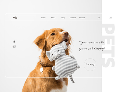 PetLove   Homepage desktop & mobile