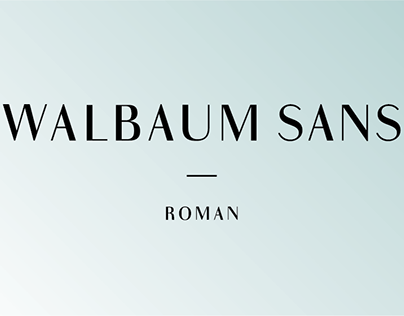 Walbaum Sans