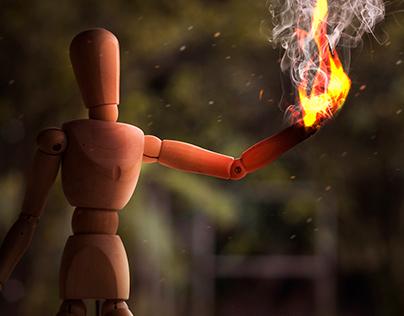 Fire a light!