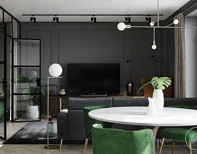 Modern stylish appartment