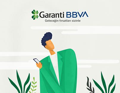 Garanti BBVA - Editorial Illustration Series