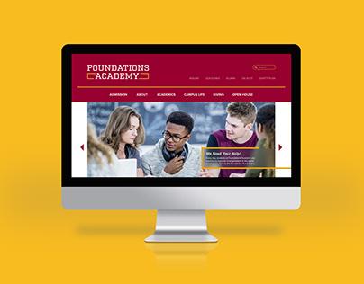 Foundations Academy Prep School Website