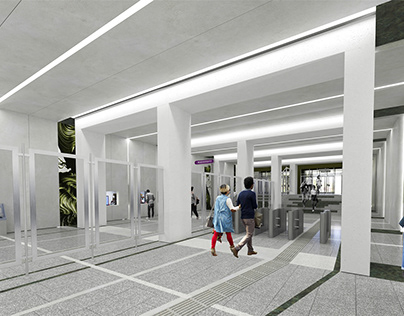 SHUVALOVSKY metrostation concept '19