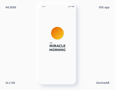 The Miracle Morning App | Neumorphism
