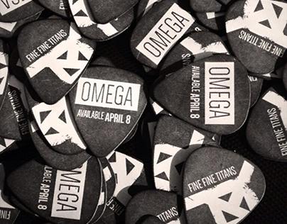 "Fine Fine Titans ""Omega"" Guitar Picks"