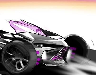 Electric 3-wheeler Advanced Concept