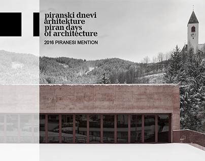 2016 Piranesi Award Mention
