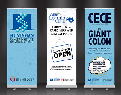 Patient and Public Education Pop-Up Display Banners