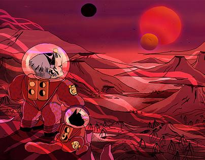 Sci-fi Platform Game