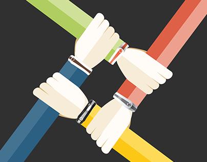 OnLife. Health tracker bracelet.