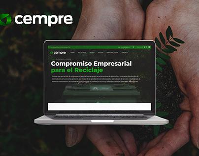CEMPRE Chile | Diseño Web