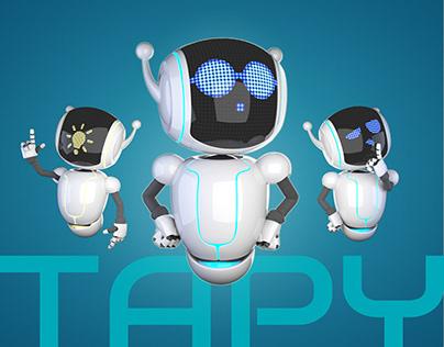 Mascot design for Talkfinance