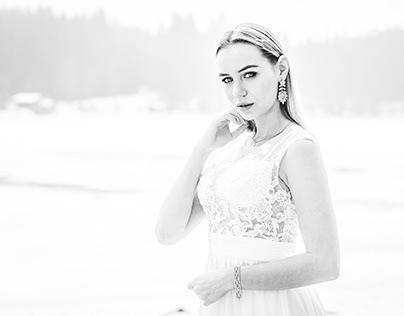 NATALI x Weddingdress @ Zugspitze