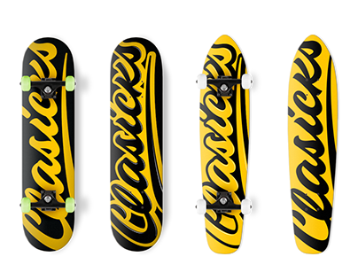 Clasicks - Skateboard and Clothing Designs