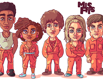 Characters Misfits