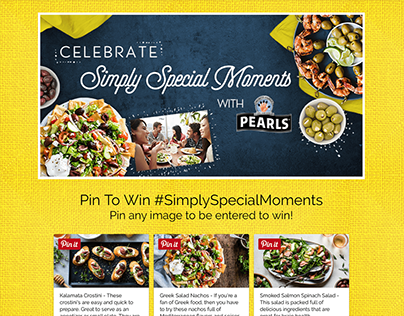 Pearls® Simply Special Moments Sweepstakes