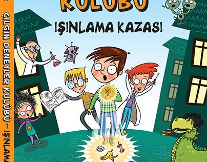 Çılgın Deneyler Kulübü- Işınlama Kazası Martı Yayınları