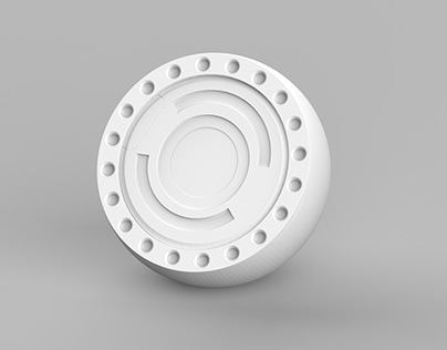 Robot Part Hard surface modelling Practice Record