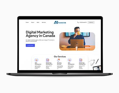 Enterprise Website Ui