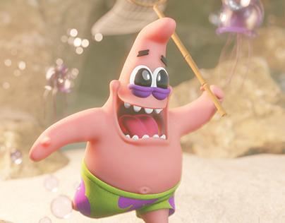 Patrick Star / jellyfishing